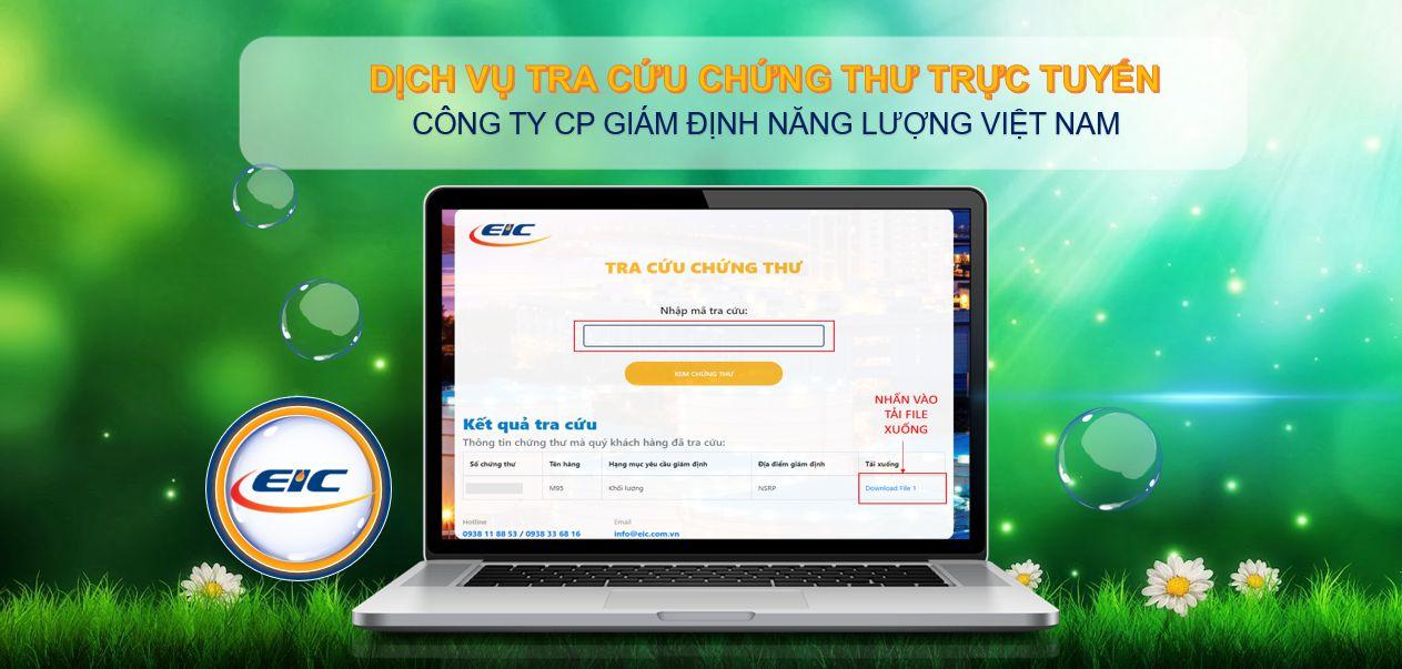 EIC ra mắt dịch vụ Tra cứu chứng thư Online.